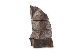 Sliced Stone Sculpture Limestone, Assorted