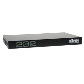 NetCommander 32-Port Cat5 1U Rack-Mount 2+1 User VGA USB KVM Switch with IP Remote Access