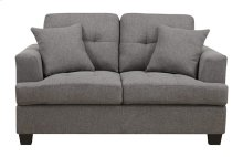 Clearview - Loveseat W/2 Pillows Grey