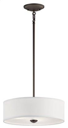 Shailene 3 Light Convertible Pendant Olde bronze