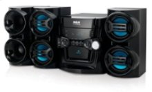 500W 5-CD Mini System with Bluetooth Receiver