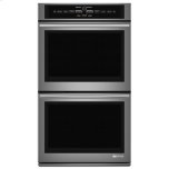 "JENN-AIRPro-Style(R) 30"" Double Wall Oven with V2 Vertical Dual-Fan Convection System"