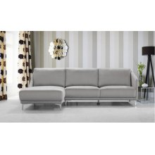 Divani Casa 0734 - Modern Fabric Sectional Sofa