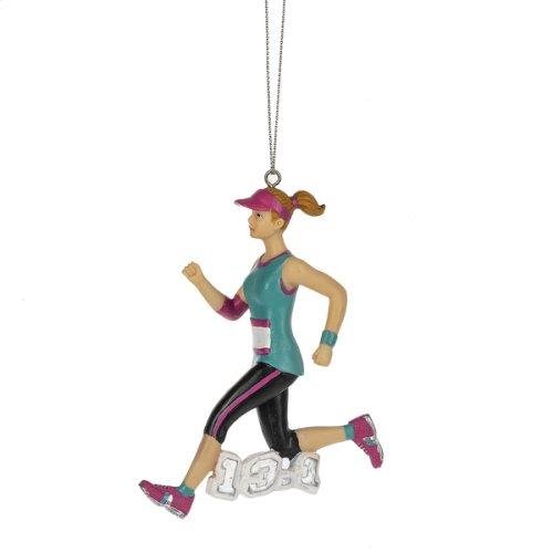 Marathon Runner Ornament. (12 pc. ppk.)