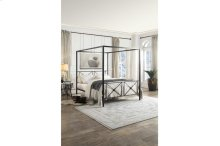Queen Canopy Platform Bed