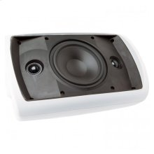 White, Indoor/Outdoor Stereo Input Loudspeaker; 6-in. 2-Way-White OS6.3Si - White