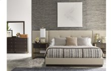 Austin by Rachael Ray Upholstered Wall Bed w/Panels, Queen 5/0