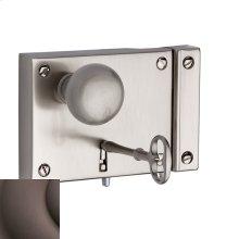 Venetian Bronze 5704 Small Horizontal Rim Lock