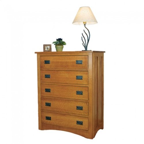 Gallatin Classic Five Drawer Chest