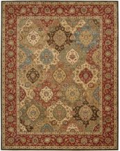 LIVING TREASURES LI03 MTC RECTANGLE RUG 27'' x 18''