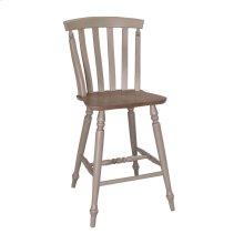 Slat Back Counter Chair