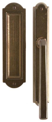 "Arched Lift & Slide Door Set - 1 3/4"" x 11"" Silicon Bronze Brushed"
