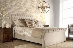 Hunter Bed Set - King - Linen Sandstone