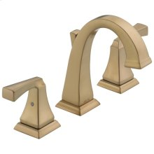 Champagne Bronze Two Handle Widespread Lavatory Faucet