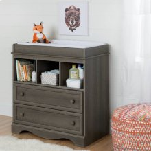 Changing Table - Gray Maple