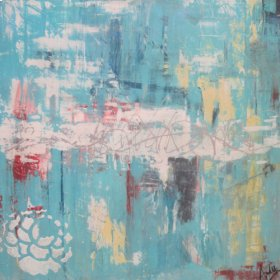 Art: Abstract Turquoise
