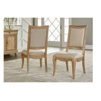 Ashby Woods Upholstered Back Side Chair Product Image