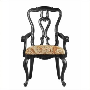 Rustica - Arm Chair In Raven