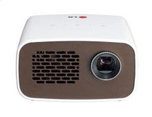 Minibeam LED Projector with Embedded Battery