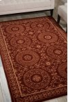 Versailles Palace Vp50 Brick Rectangle Rug 5'3'' X 8'3''