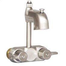 Tub Filler with Diverter - Brushed Nickel