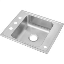 "Elkay Lustertone Classic Stainless Steel 22"" x 19-1/2"" x 7-1/2"", Single Bowl Drop-in Classroom Sink"