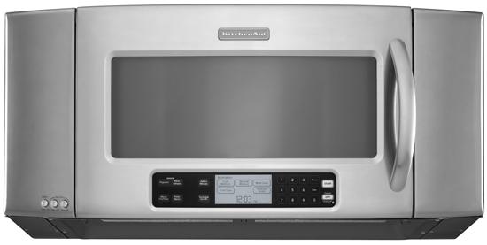 Stainless Steel KitchenAid® 36u0027u0027, 1200 Watt Microwave Hood Combination Oven,
