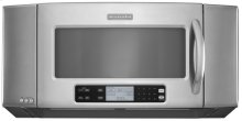 Stainless Steel KitchenAid® 36'', 1200-Watt Microwave Hood Combination Oven, Architect Series II