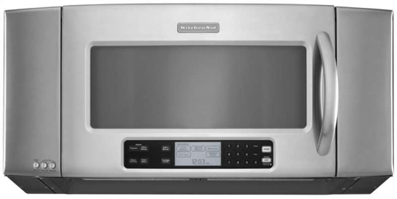 Stainless Steel Kitchenaid 36 1200 Watt Microwave Hood Combination Oven