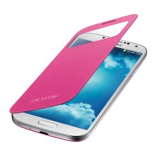 Galaxy S 4 S-View Flip Cover, Pink