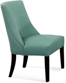 Tuxedo Dining Chair with nailhead