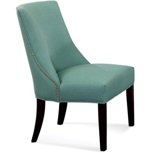 Tuxedo Dining Chair with Nailhead Trim