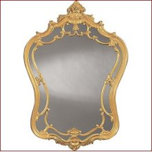 Mirror W907 Powdered Gold