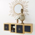Lombardy Wall Cabinet-No Crown Product Image