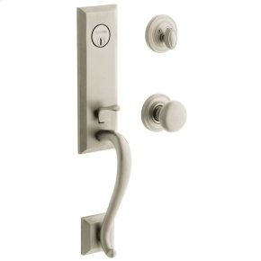 Satin Nickel with Lifetime Finish Glennon Escutcheon Trim