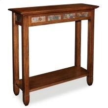 Rustic Oak Slate Hall Stand #10059