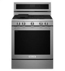 KitchenAid® 30-Inch 5-Burner Gas Convection Range - Stainless Steel