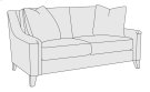 Norton Loveseat in Mocha (751) Product Image