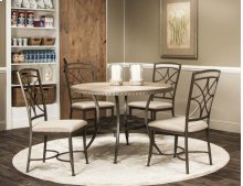 """T2011-45  Aster-45"""" 5pc Dining Set"""