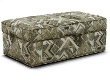 June Ottoman with Nails 2A0081N