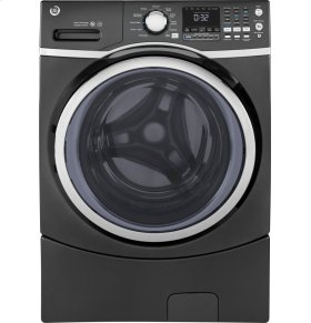 Energy Star 5.2 cu.ft. capacity stainless steel drum frontload washer