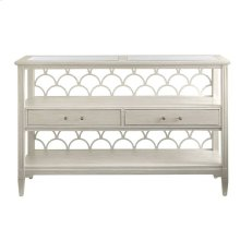 Oasis-Sea Cloud Console Table in Oyster