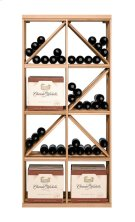 Apex 6' Case & Diamond Bin Modular Wine Rack Product Image