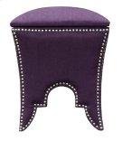 Royal Purple Ottoman Product Image