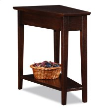 Recliner Wedge Table #10074-CH