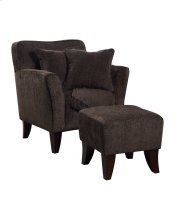 Sunset Trading Cozy Accent Chair with Ottoman, Pillows and Throw - Sunset Trading Product Image