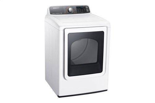 DV48J7770EW Electric Front-Load Dryer, 7.4 cu.ft