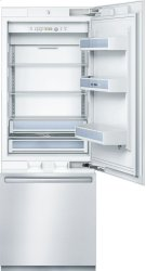 """Benchmark® 30"""" Built-In Bottom-Freezer Benchmark Series - Stainless Steel B30BB830SS Product Image"""