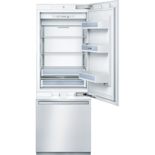 "Benchmark® 30"" Built-In Custom Panel Bottom-Freezer Benchmark Series - Custom Panel B30IB800SP"