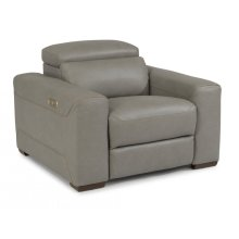 Lexon Leather Power Recliner with Power Headrest